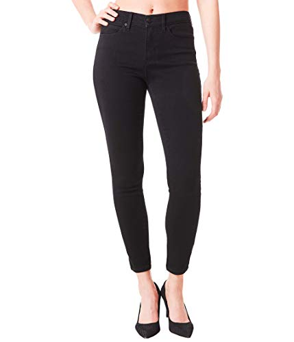 Nicole Miller New York Luxe Jeans in Black Black 12