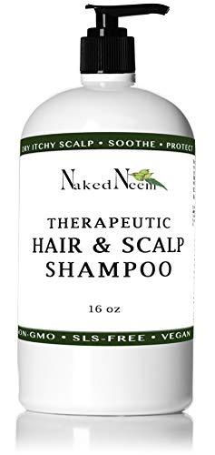 Neem Scalp Shampoo (16 Ounce) - Pure Organic Neem, 3 sizes,...