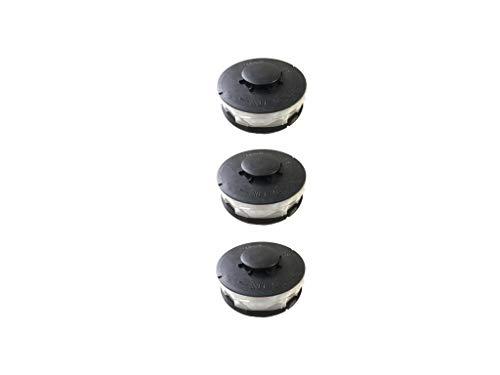 3 Stück Doppelfaden Rasentrimmer Spule Ersatzfadenspulen für Elektro Rasentrimmer passend für Einhell passend für Einhell Elektro Rasentrimmer GC-ET 4530
