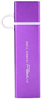 Mipow SP-4000S-PU 400 mAh Power Tube for Mobile Phones, Purple