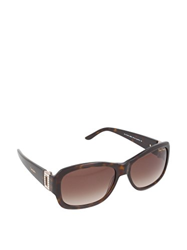 Pierre Cardin Damen P.C. 8355/S Sh 086 56 Sonnenbrille, Braun (Dark Havana/Brown Shaded)