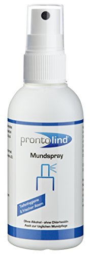 Prontolind Mundspray optimale Pflege für Oralpiercings 75ml 11,87€/100ml