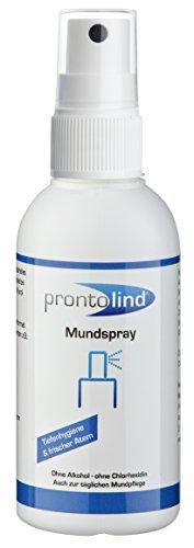 Prontolind Mundspray optimale Pflege für Oralpiercings 75ml 11,87€/100ml