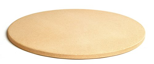 Pizzacraft 165quot Round ThermaBond Baking/Pizza Stone  for Oven or Grill  PC9898