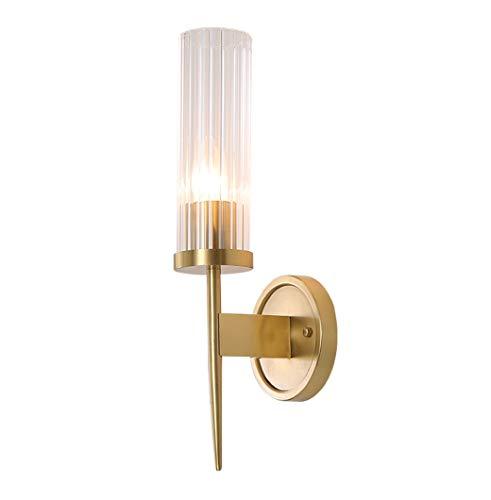 Led-wandlamp voor slaapkamer, binnenverlichting van koper uit alle Amerikaanse palen, modern en luxueus licht, woonkamer, studio, slaapkamer, Scandinavisch huis, Villa van puur koper, folie