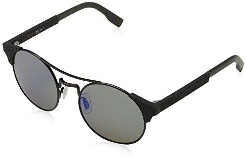 BOSS Orange 0280/S 3u Gafas de sol, Negro (MATT BLACK/KAKI SP BLUE), 52 Unisex-Adulto