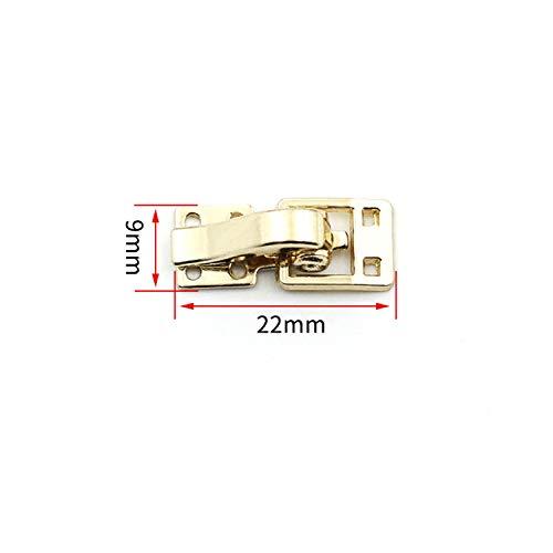 5 Pares/Lote Invisible Combinado Botón de Sujeción Accesorios de Costura Multa de Aleación de Zinc Botones de Hebilla Para Abrigos de Piel de Visón Cortaviento, 5S