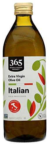 365 by Whole Foods Market, Cold Processed Extra Virgin Olive Oil, Italian, 33.8 Fl Oz