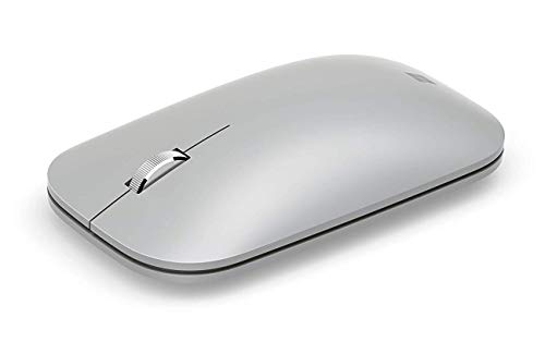 Microsoft Surface Mobile Mouse - Ratón (Ambidextro, BlueTrack, Bluetooth, Platino)