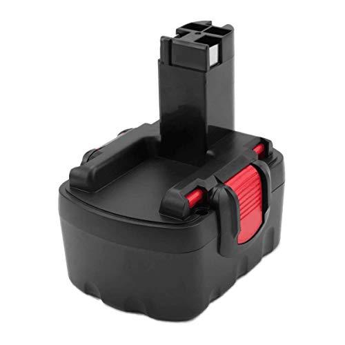 Topbatt 14,4V 3,0Ah Ersatz für bosch Batterie Akku Ni-MH BAT038 BAT040 BAT041 BAT140 BAT159 2607335533 2607335275 2607335685 PSR 14.4 13614 13614-2G 15614