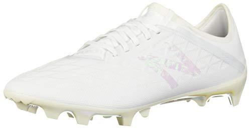 New Balance Men's Furon V5 Firm Ground Soccer Shoe, White/White/White, 7.5 2E US
