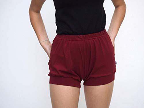 Pune Style Women/'s  yoga shorts  floral printed Iyengar Yoga Shorts India block printed hand made fabric shorts for women