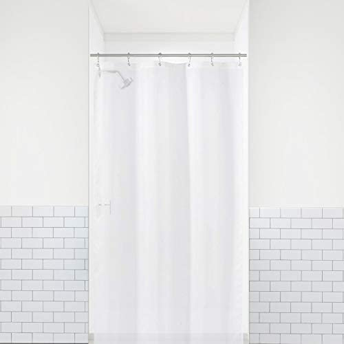 LiBa PEVA 8G Bathroom Small Shower Stall Curtain Liner 36 W x 72 H Narrow Size Frosted 8G Heavy product image