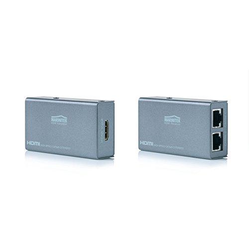 Marmitek MegaView 60 - HDMI Extender - meer dan 2 CAT 5 (UTP) kabel - Full HD - 1080P - 30 m - Kijk uw HD-Content anders op uw tv
