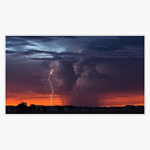 "STG Trading Atmospherics 2 - Pilbara, Western Australia Vinyl Bumper Sticker Decal Waterproof 5"""