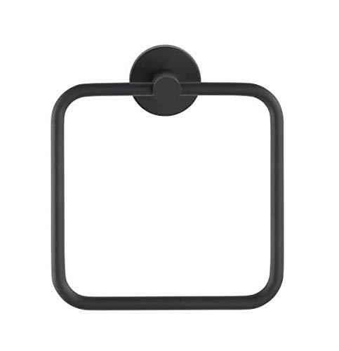WENKO Handtuchring Bosio Black matt