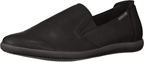Mephisto Women's Korie Slip On Shoes Black Leather 5 M US