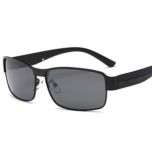 Sunglasses Mode Männer Polarisierte Sonnenbrille Square Männlich Fahren Fischen Sonnenbrille Sport Frauen Sonnenbrille Uv400 Schwarz