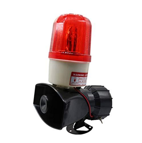 GFPR Ton und Licht Alarm hohe Dezibel Fabrik Werkstatt Website Alarmhorn Brandschutzausrüstung...