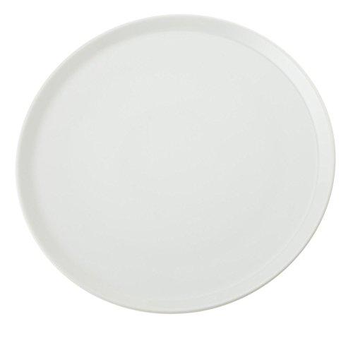 SATURNIA Plato de Pizza de 31 cm Napoli Color Blanco