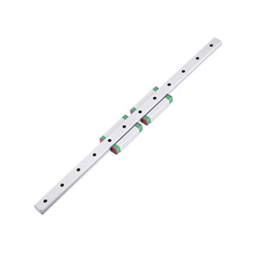 XKC-watches 3D Printer MGN7C MGN7H MGN9C MGN9H MGN12C MGN12H MGN15C MGN15H miniature linear rail slide 1pcs MGN linear guide MGN carriage (Color : MGN7H, Guide Length : 650mm)
