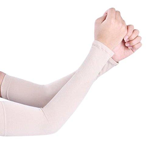 Dosige Arm Ärmel Armlinge Radsport Sonnenschutz Unisex Kühlung Armstulpe UV-Schutz für Basketball Golf Radsport 36cm