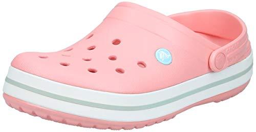 crocs Unisex-Erwachsene Crocband U\' Clogs, Rosa (Melon-Ice Blue 7h5), 41/42 EU