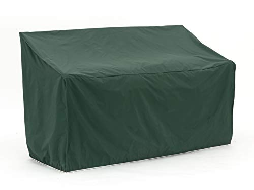 Covermates – Outdoor Patio Glider Cover – 64W x 34D x 30H – Classic – 12-Gauge Vinyl – Polyester Lining – Elastic Hem for Secure Fit – 2 YR Warranty – Weather Resistant - Green