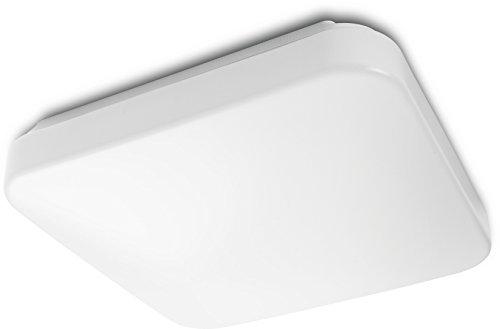 Philips MyLiving MAUVE plafón cuadrado LED luz blanca fría 4000K, 17W