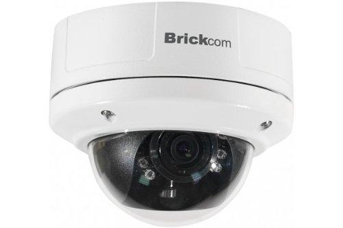 BRICKCOM Dome ip megapxel antivandales varifocale jour/nuit