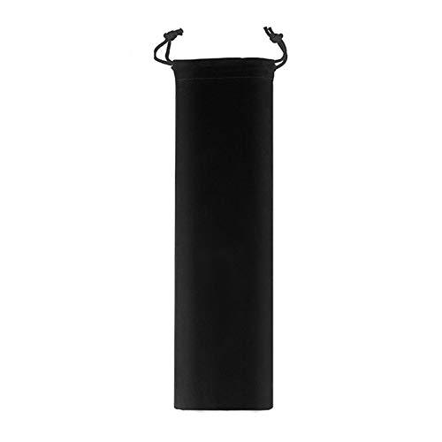 HaushaltKuche Pajitas Paja Colorido Reutilizable Metal pajas de Beber del Acero Inoxidable 304 sensibles a la Temperatura con la escobilla Partido de la Barra de Accesorios (Color : Bag2)