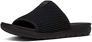 Fitflop Artknit Women's Sandals, Black, 39 EU