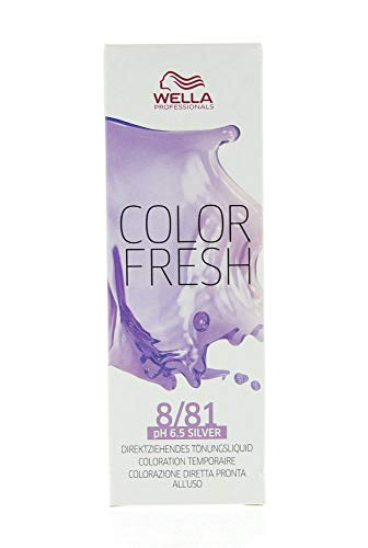 Wella Color Fresh Silver 8/81, 75 ml