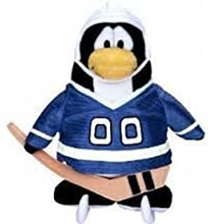 "Club Penguin Save $7.00 - Value Deal on Rare Blue Hockey Player 6.5"" Plush - Value Deal = Just The Rare Plush Without Coin..."