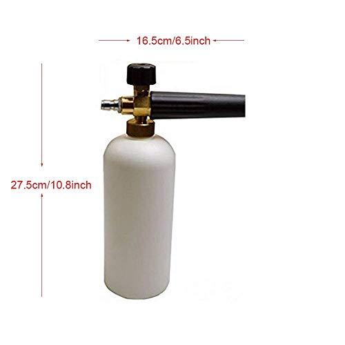 Onerbuy - Pistola de espuma para lavado de coches a presión con ...