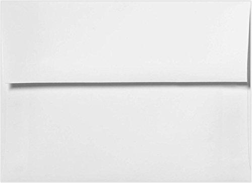 "1000 A4 White (4 1/4"" x 6 1/4"") 4x6 Wedding Shower Announcement Photo Envelopes"