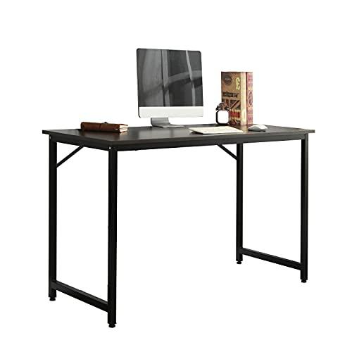 sogefurniture Scrivania per Computer Tavolo da Lavoro in Acciaio Legno, Moderno Scrivania Postazioni...
