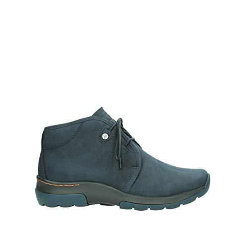 Wolky Comfort Schnürschuhe Dub - 11800 blau Nubukleder - 39