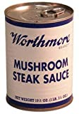 Worthmore Mushroom Steak Sauce, 19.5-ounce (Pack of 6)