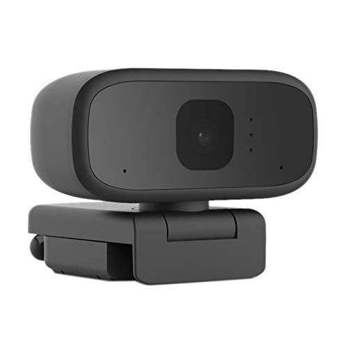 MLX P3 Webcam Autofocus Cámara Web 1 megapíxel Soporte 720P Video Call Computer Cámara Periférica LQWT (Color: Negro)