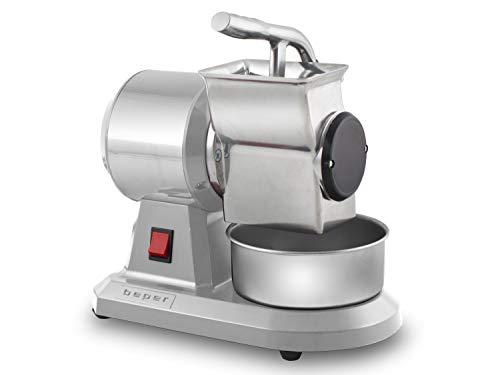 Beper 90.059 90.059-Rallador de queso profesional, Rojo y gris