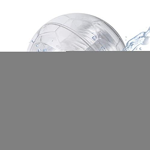 bizofft Luz Flotante para Piscina, luz Flotante con energía Solar, Impermeable, Bola Decorativa en Forma de Lago para Fuente