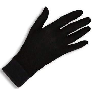 TAOtTAO Hautpflegehandschuhe aus doppelter Seide aus Seide Jasmine Gloves Thermo-Liner-Handschuh-Innenhandschuh-Fahrradhandschuhe - 2