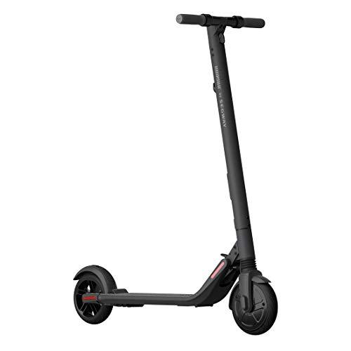 Segway ES2 Patinete eléctrico eScooter, 25 km/h,15.5 mph, 12.5 kg, Faros LED, batería extraíble, Control a través de la App,...