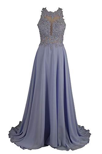 Special Bridal Fegen Zug Abendkleid rmelloses Perlen Langer Abschlussball Kleid