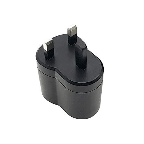 Convertidor de corriente AC a DC,Adaptador De Corriente 100V~240V AC A 12V 2A DC Adaptador de Corriente para Encendedor de Cigarrillos Automóvil,UK/EU Plug