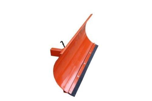 Schneepflug Räumschild Universal Schneeschild für Einachser und Rasentraktor Orange / 200 x 40 cm / 3 Stufen verstellbar