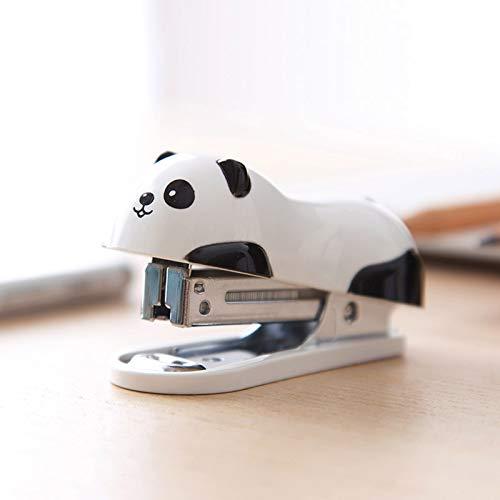 AAPP SHOP schattige Panda Mini nietmachine kind draagbare nietmachine kleine nietmachine Student briefpapier nietmachine