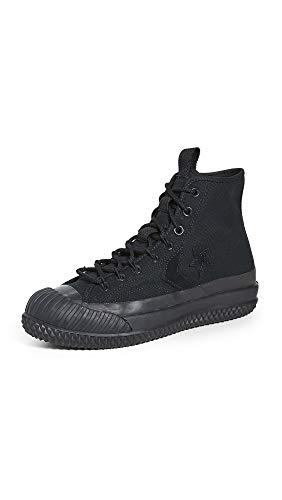 Converse Men's Bosey MC Water Repellent Sneaker Boots, Black/Black/Black, 9.5 Medium US