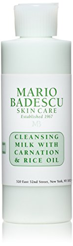 Mario Badescu Cleansing Milk with Carnation & Rice Oil, 6 Fl Oz